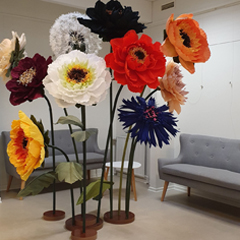 blomster udlejning