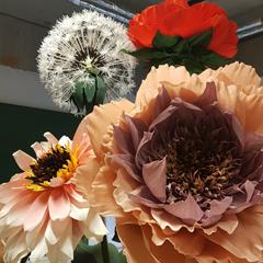 Blomster i papir